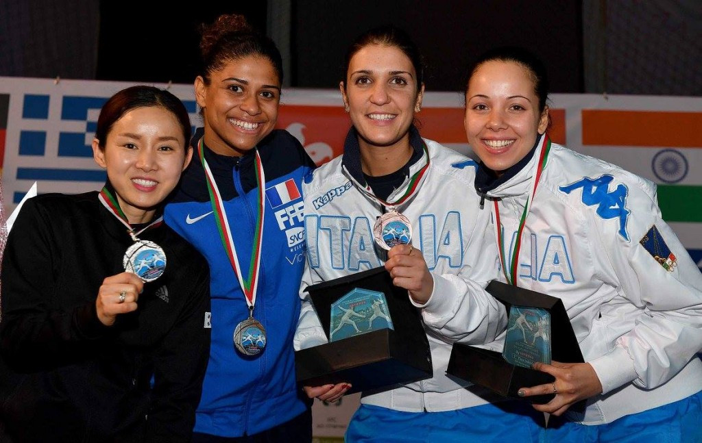 Thibius and Italian team claim top prizes at FIE Foil World Cup
