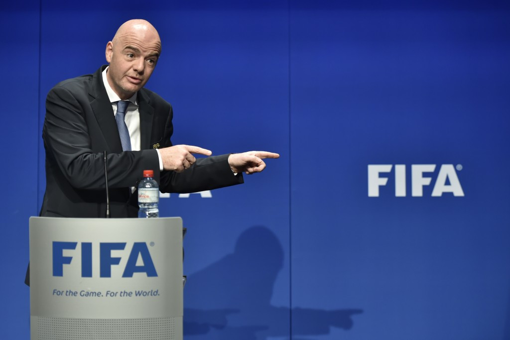 Alejandro Dominguez is seen as a close ally of FIFA President Gianni Infantino ©Getty Images
