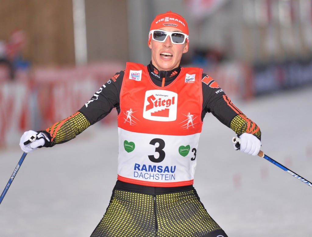 Overall World Cup leader and Olympic champion Eric Frenzel was second in qualifying ©Getty Images