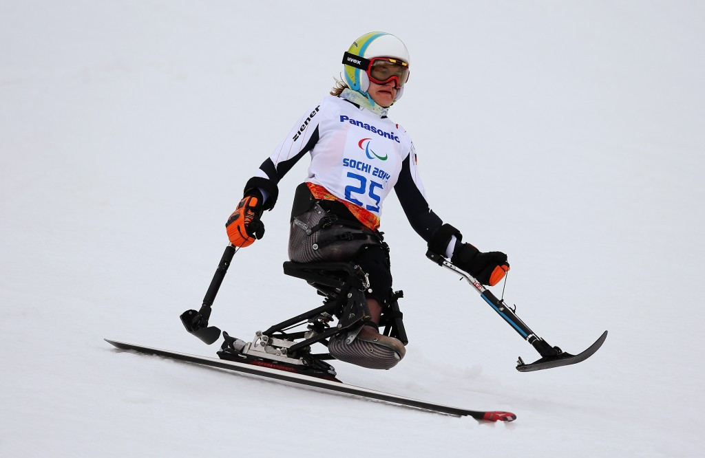 Germany's Forster tops women's slalom sitting podium at IPC Alpine Skiing World Cup