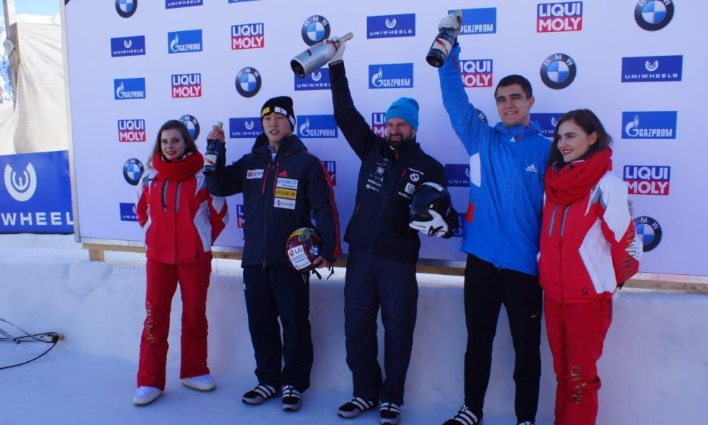 Dukurs maintains good form with win at IBSF World Cup in St Moritz
