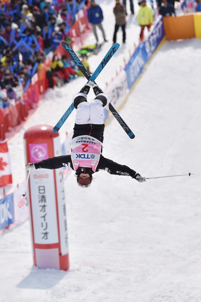 Chloe Dufour-Lapointe has endured a difficult World Cup campaign so far ©Getty Images