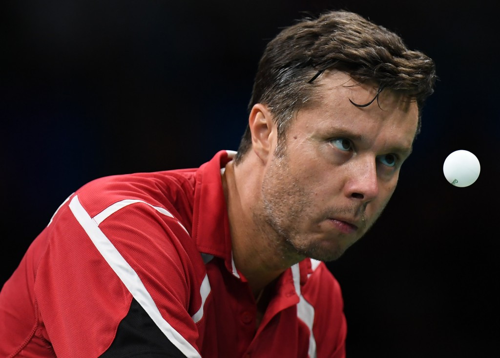 Top seed Samsonov through to quarter-finals at ITTF Hungarian Open