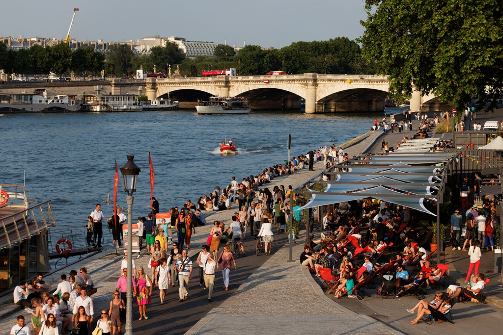 Paris 2024 has welcomed an announcement by the City of Paris that is has identified nine potential sites to bring public swimming back to the River Seine ©Paris 2024
