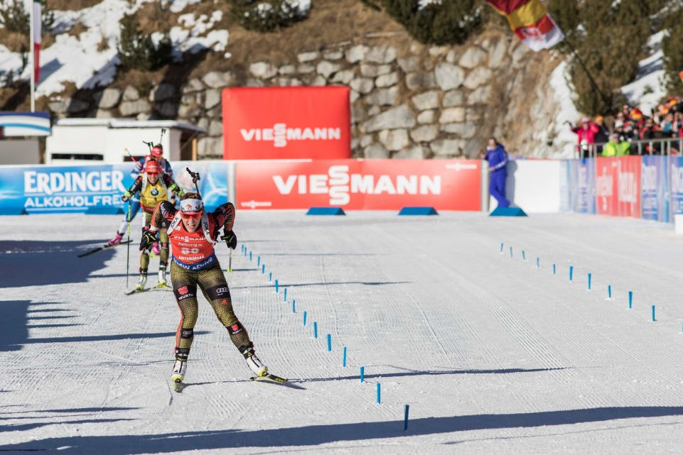 Horchler wins mass start to clinch maiden IBU World Cup victory