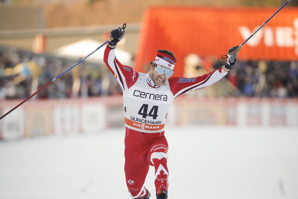 Canada's Harvey claims historic win at FIS Cross-Country World Cup