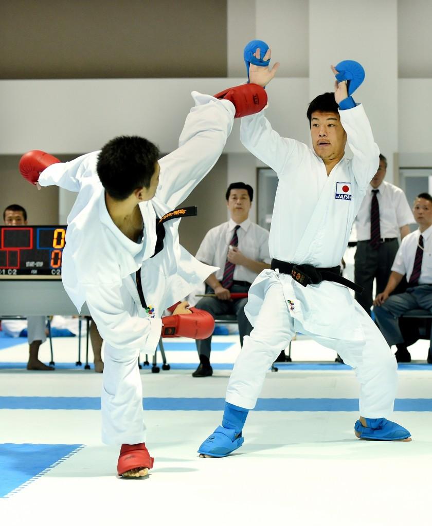 Huge Japanese team seeks glory in Paris Karate1 Premier League event