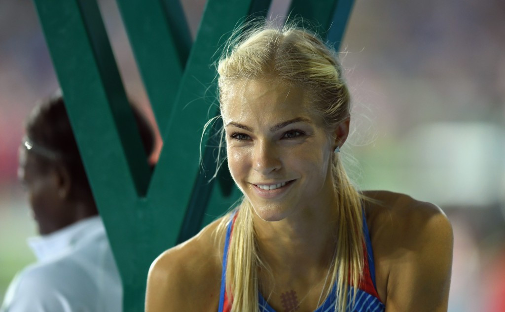 Darya Klishina was the only Russian athlete allowed to compete at the 2016 Olympic Games in Rio ©Getty Images