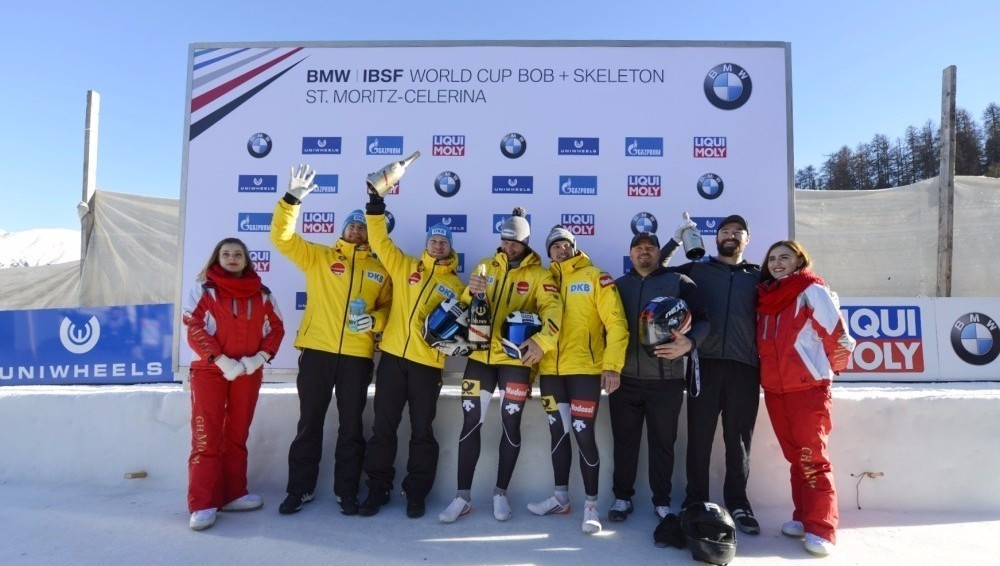 Lochner claims first IBSF World Cup victory in St Moritz