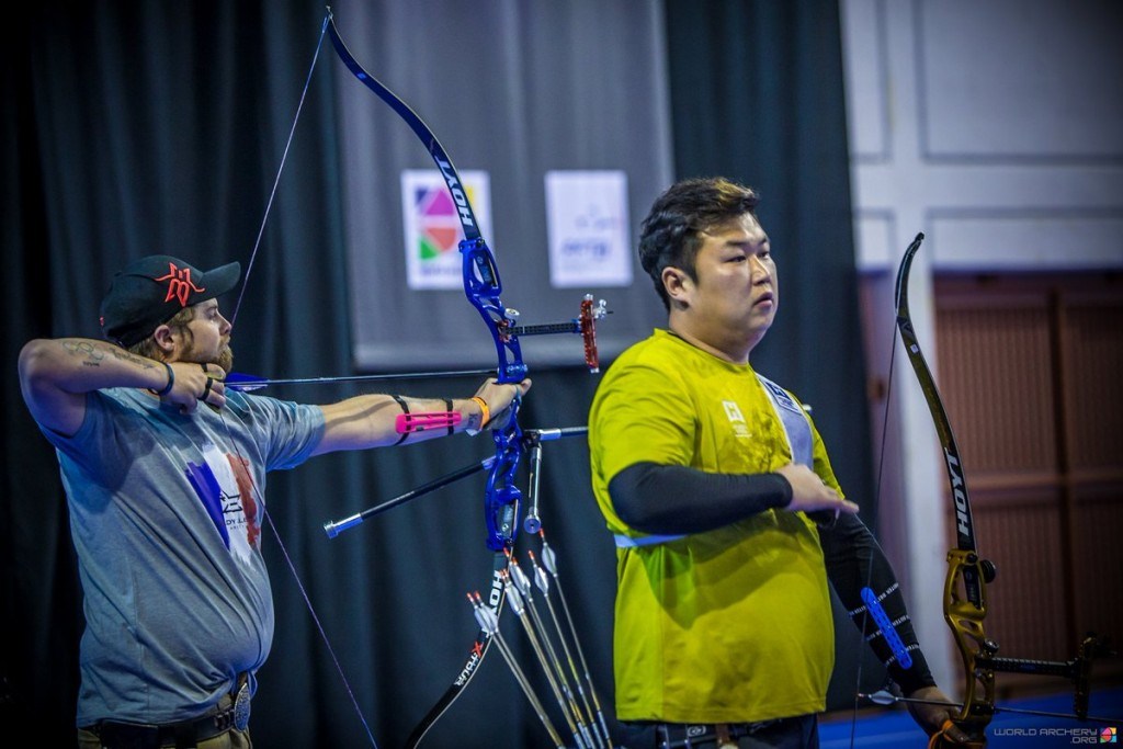 Oh defeats world record setter Ellison at Indoor Archery World Cup