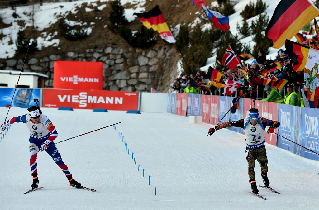 The IBU convened an extraordinary Executive Board meeting at a World Cup event in Antholz ©Getty Images