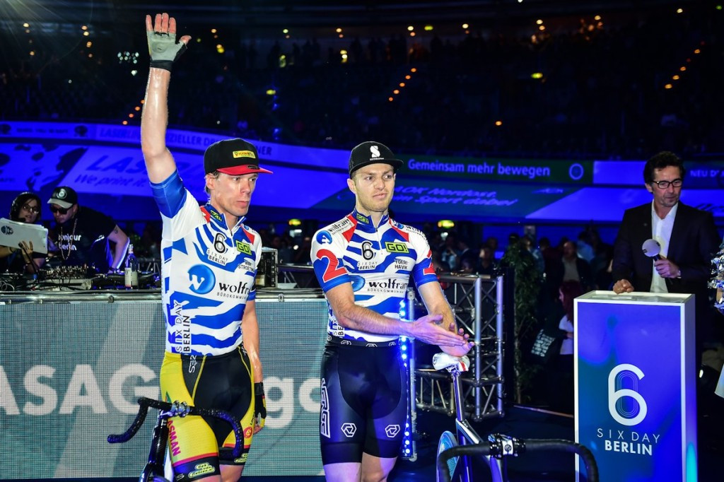 Dutch duo retain lead at Berlin Six Day Series