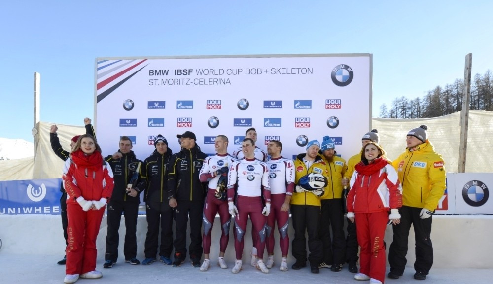 Latvia's Kibermanis claims first-ever IBSF World Cup win in St Moritz