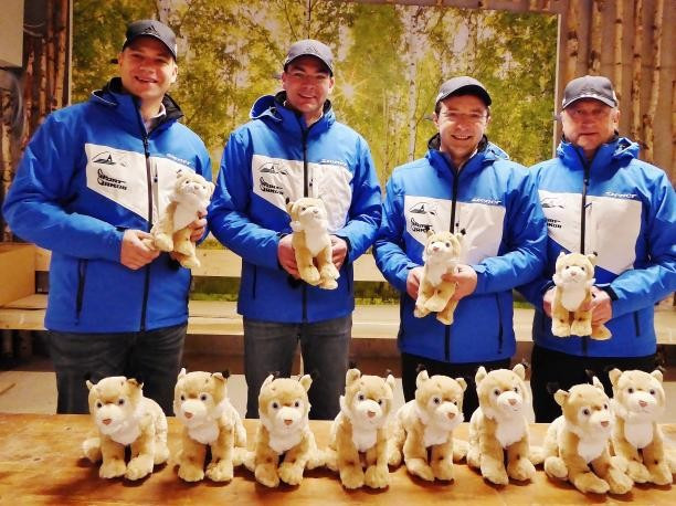 """The lynx mascot of the 2017 World Para Nordic Skiing Championships in Finsterau in Germany has been named """"Filu"""" ©Finsterau 2017"""