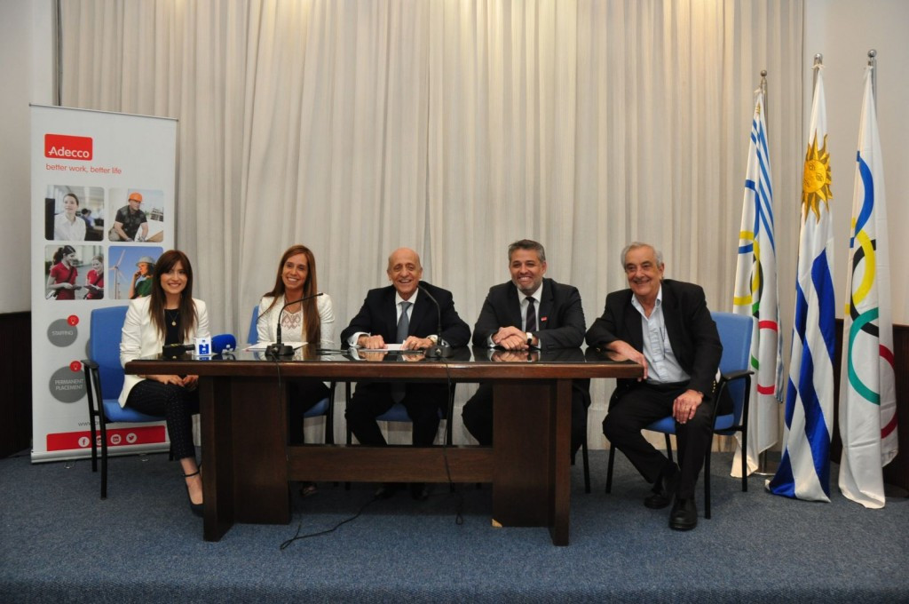 The Uruguayan Olympic Committee has signed a deal with Adecco ©COU