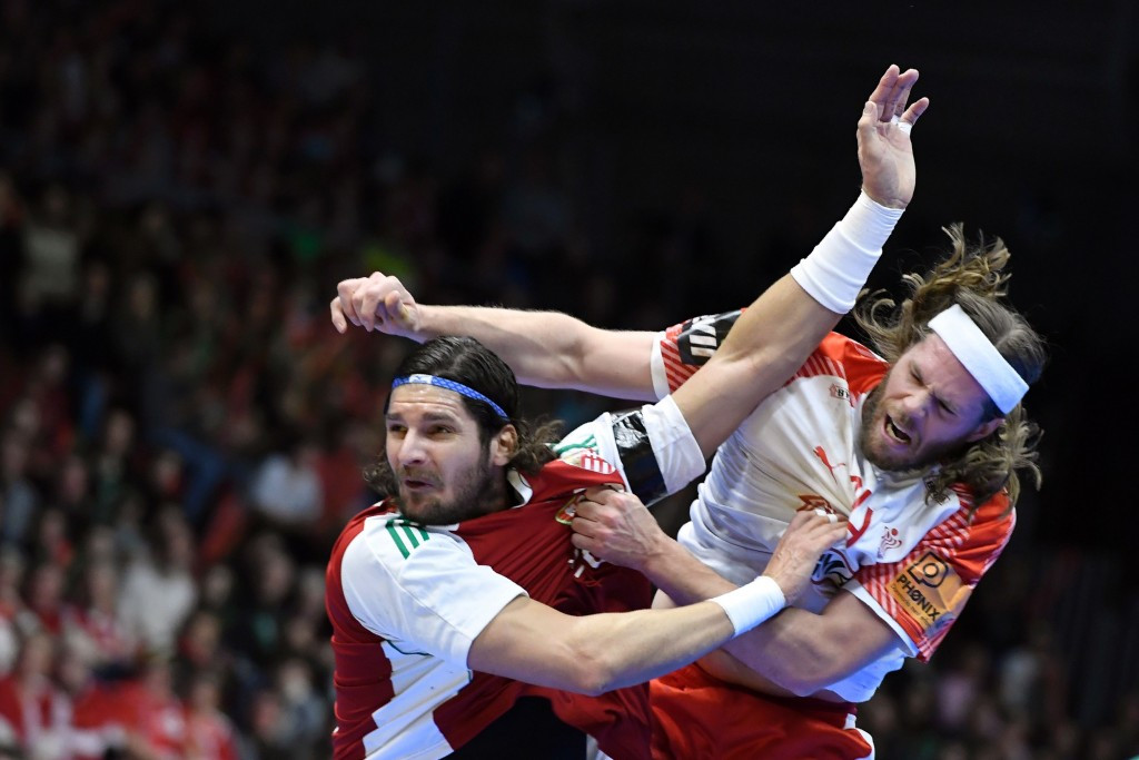 Hungary stunned Olympic champions Denmark in the last 16 ©Getty Images