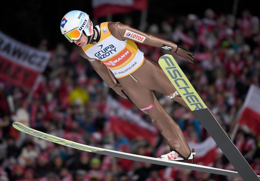 Stoch claims superb home win at FIS Ski Jumping World Cup