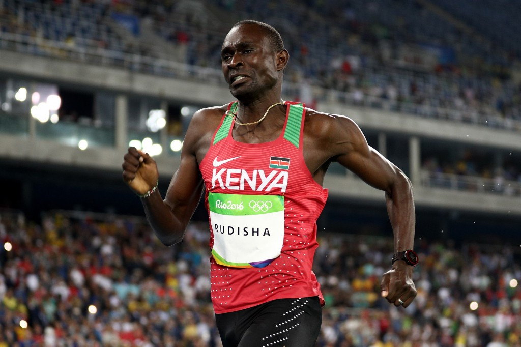 Double Olympic 800m gold medallist David Rudisha disagrees with Haile Gebrselassie about who is to blame for doping in Ethiopia and Kenya ©Getty Images