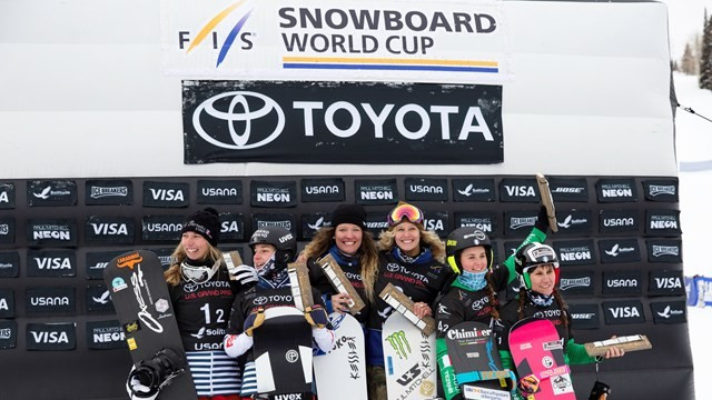 Birthday gold for Mancari at FIS Snowboard Cross World Cup in Solitude