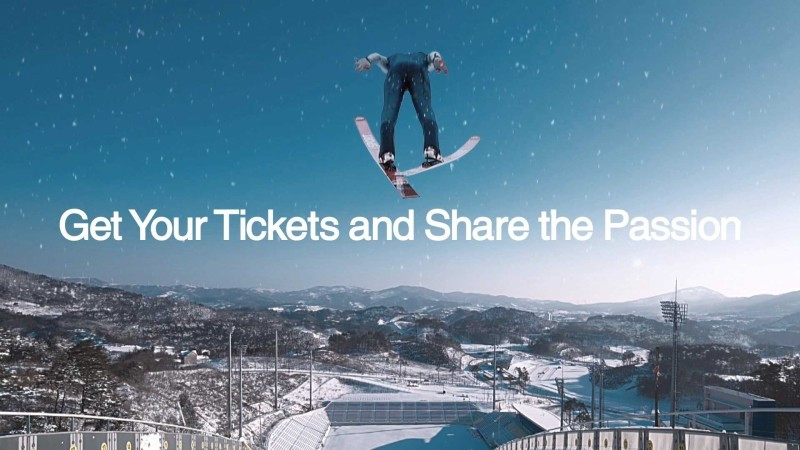 Video released to promote Winter Olympics ticket launch