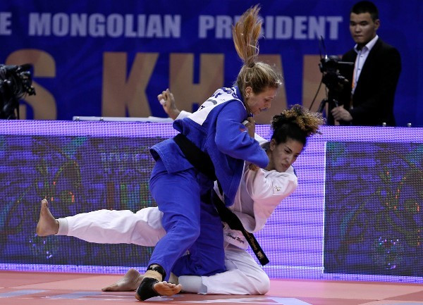 Britain's Gibbons returns to form with gold on final day of IJF Grand Prix in Mongolia