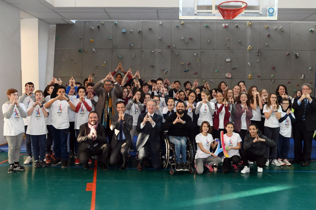 The Olympic and Paralympic project by the Paris 2024 Olympic and Paralympic Bid has started across France ©Paris2024