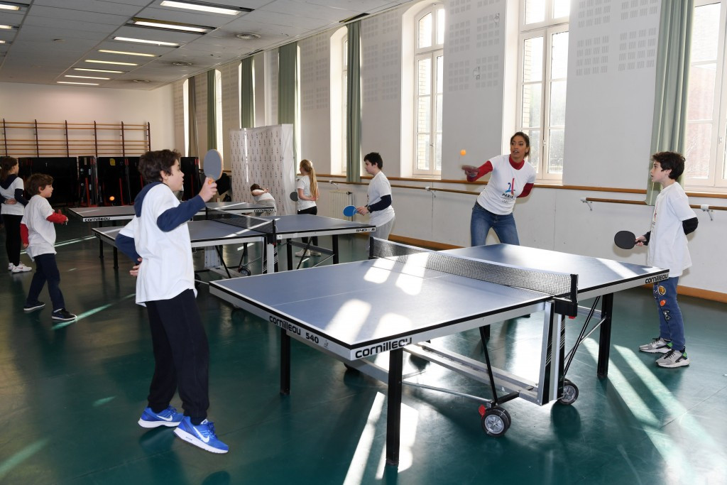 The project is expected to reach more than a million children in its first year ©Paris2024