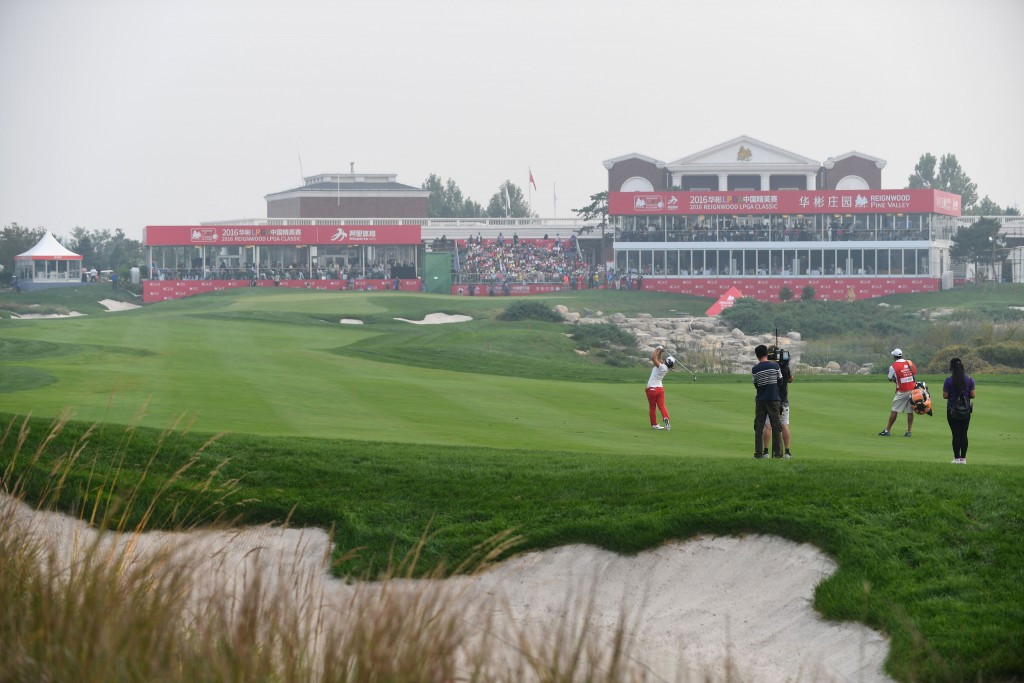 Government officials have said there are 683 golf courses in China ©Getty Images