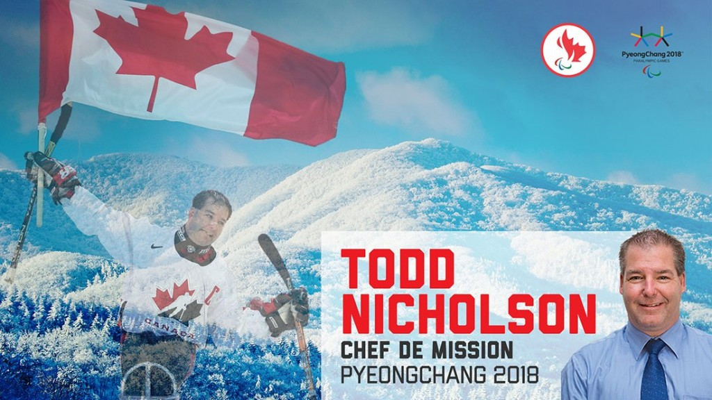 Paralympic gold medallist Nicholson named Canada's Pyeongchang 2018 Chef de Mission