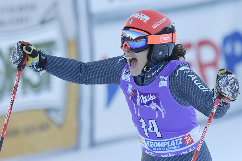 Brignone claims FIS World Cup win on home snow