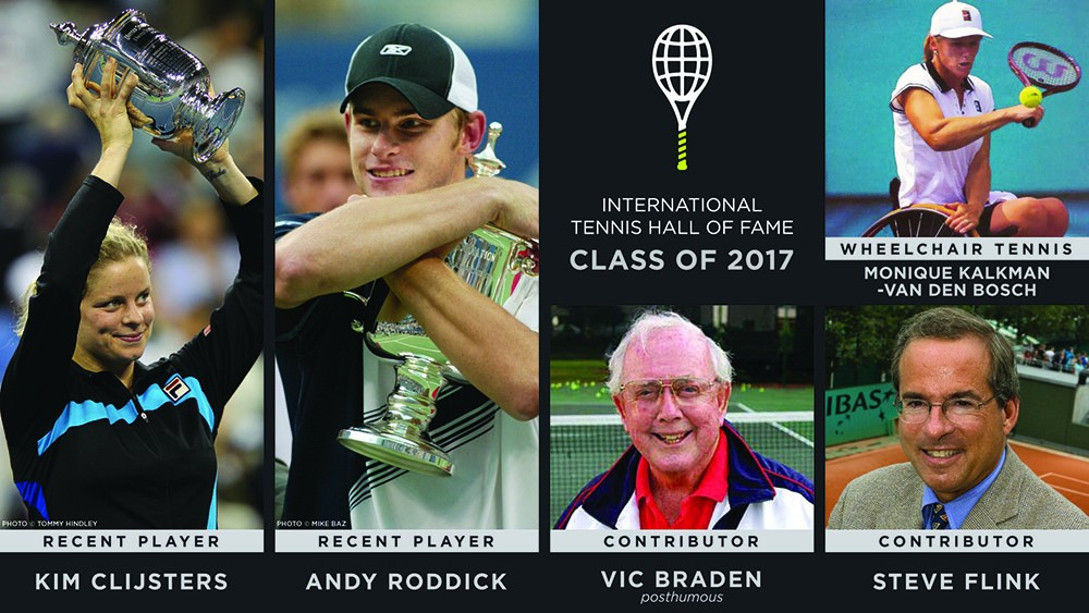 Players and coaches are among those to be added to the Hall of Fame ©International Tennis Hall of Fame