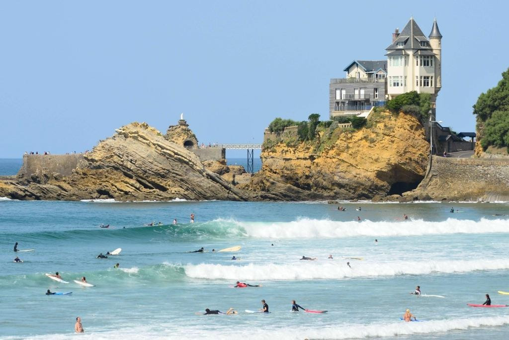 "The International Surfing Association has expressed a ""high level of satisfaction"" after a visit to Biarritz ©ISA"