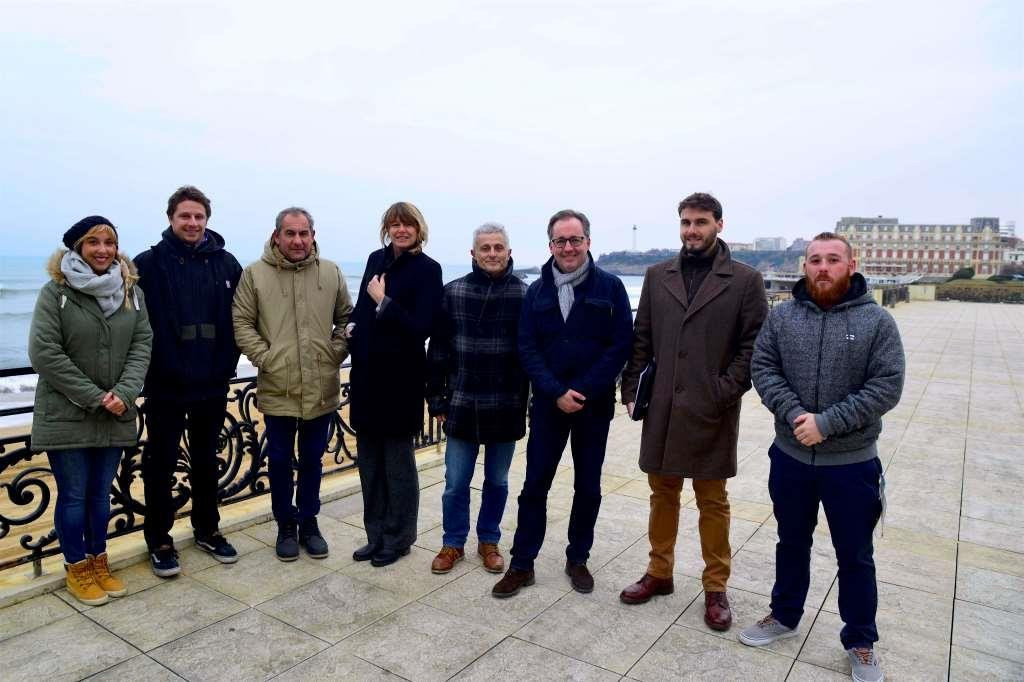 An ISA delegation visited the French city to assess preparations ©ISA
