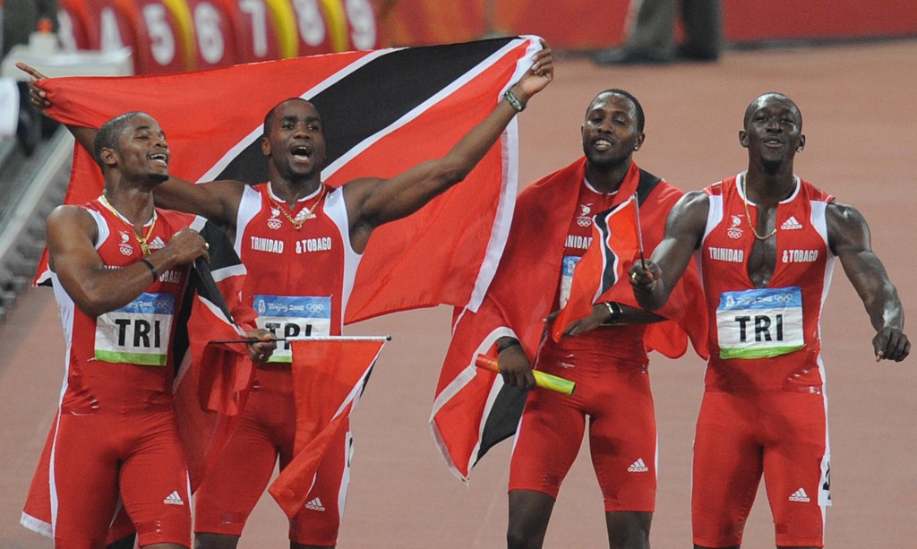 Trinidad and Tobago will be promoted from Olympic silver medallists to gold at Beijing 2008 following the disqualification of the Jamaican team after Nesta Carter tested positive for banned drugs ©Getty Images