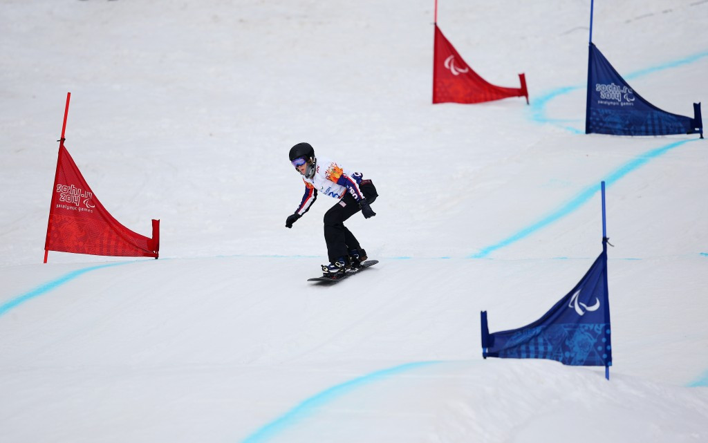 Purdy set to make season debut at IPC Snowboard World Cup