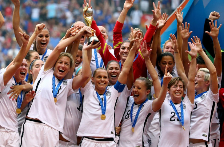 The United States claimed their third Women's World Cup crown as they hammered Japan 5-2 in the final ©Getty Images