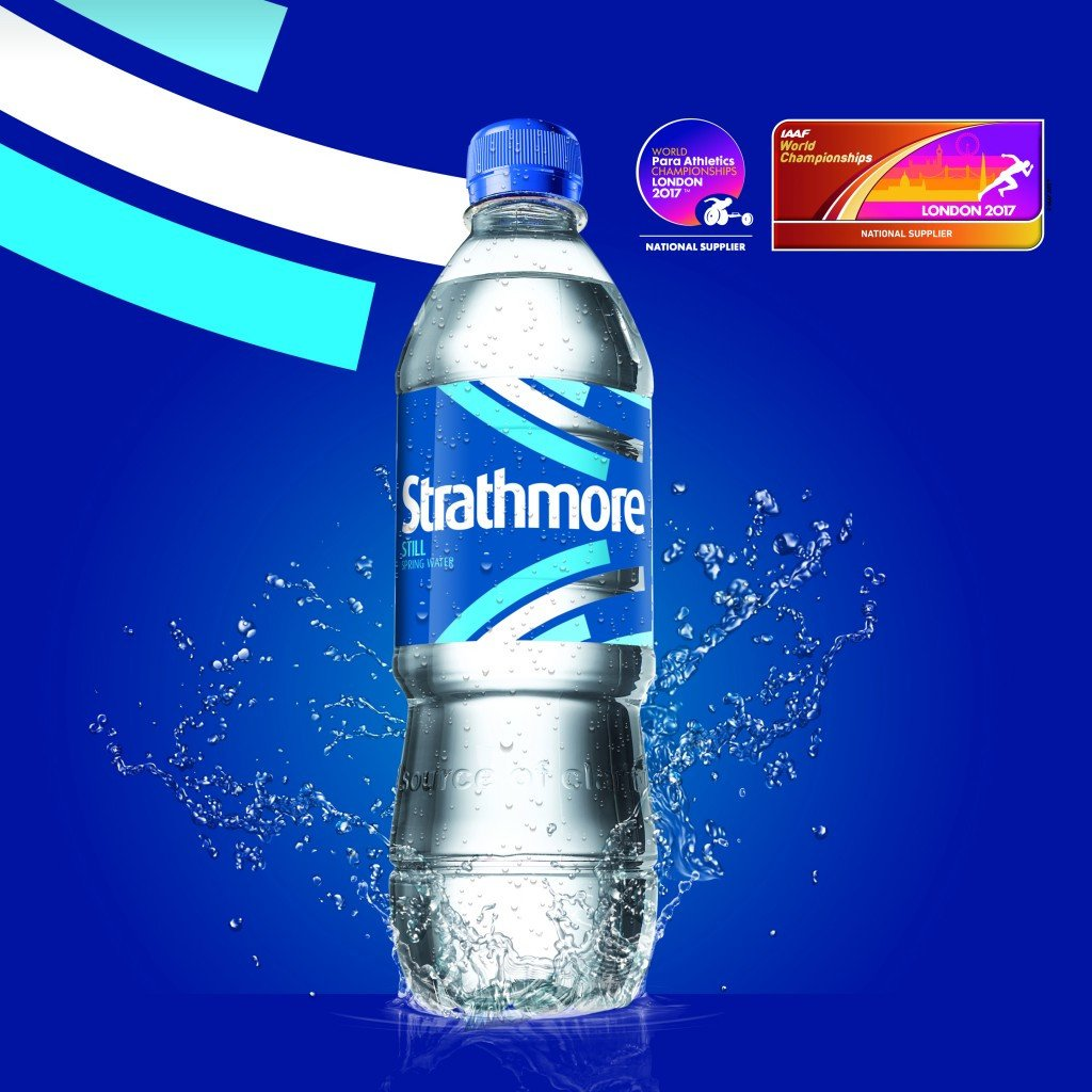 London 2017 unveils Strathmore as bottled water national supplier