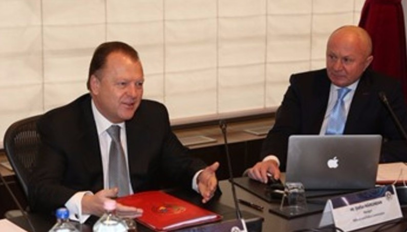 IJF President Marius Vizer attended the meeting in Budapest ©IJF