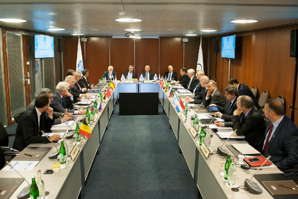 Minsk 2019 was top of the agenda at the European Olympic Committees Executive Board meeting in Lausanne ©EOC