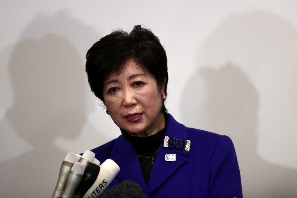 Olympic funding has been slightly reduced in the first Olympic and Paralympic budget issued by Yuriko Koike ©Getty Images