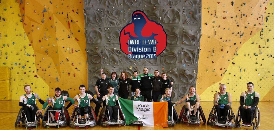 Ireland are in confident mood for the Wheelchair Rugby European Championships in Pajulahti in September