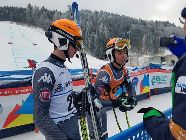 Duo dedicate World Para Alpine Championship bronze to earthquake victims