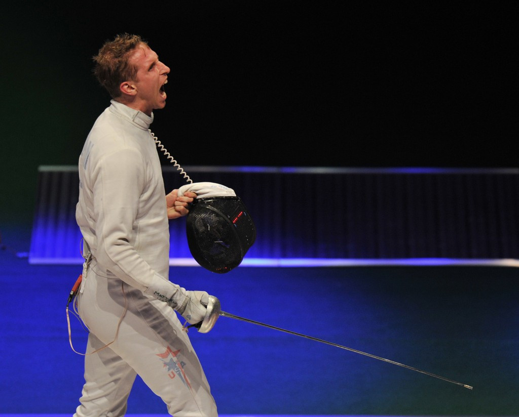 Fencer Cody Mattern has been selected as a vice-chair of the USOC Athletes' Advisory Council ©Getty Images