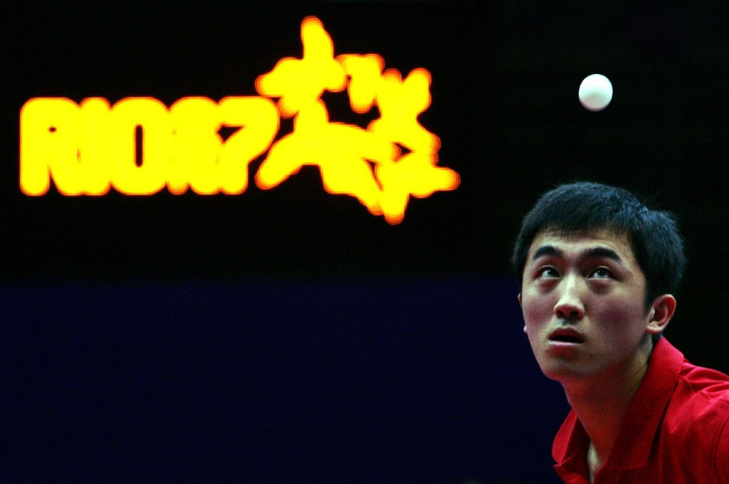 Table tennis player Han Xiao has been elected chairman of the USOC Athletes' Advisory Council ©Getty Images