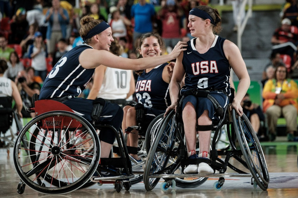 Paralympic gold medallists to lead 2017 US women's wheelchair basketball team