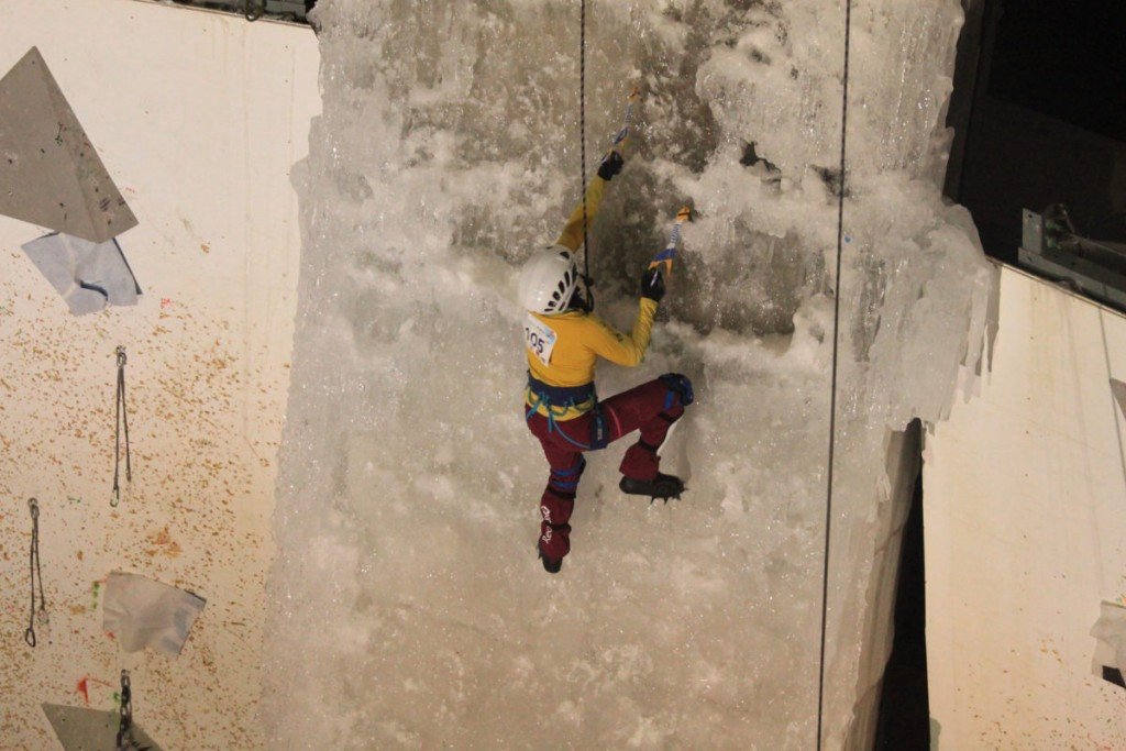 ice climbing is one sport which could be included on the Asian Winter Games programme ©UIAA