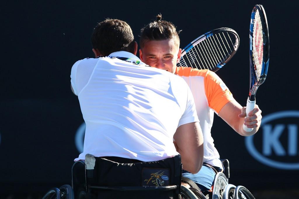 Reid secures Grand Slam of men's doubles titles