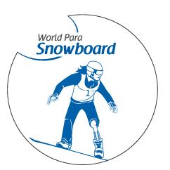 Minor continues winning ways at Para Snowboard World Cup
