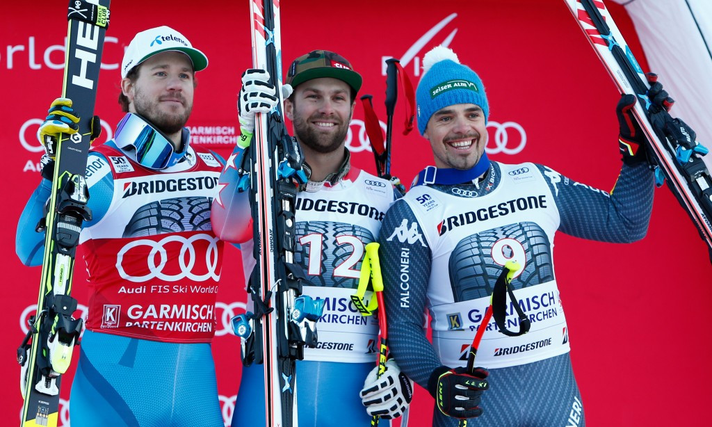Ganong tops World Cup podium in Garmisch-Partenkirchen