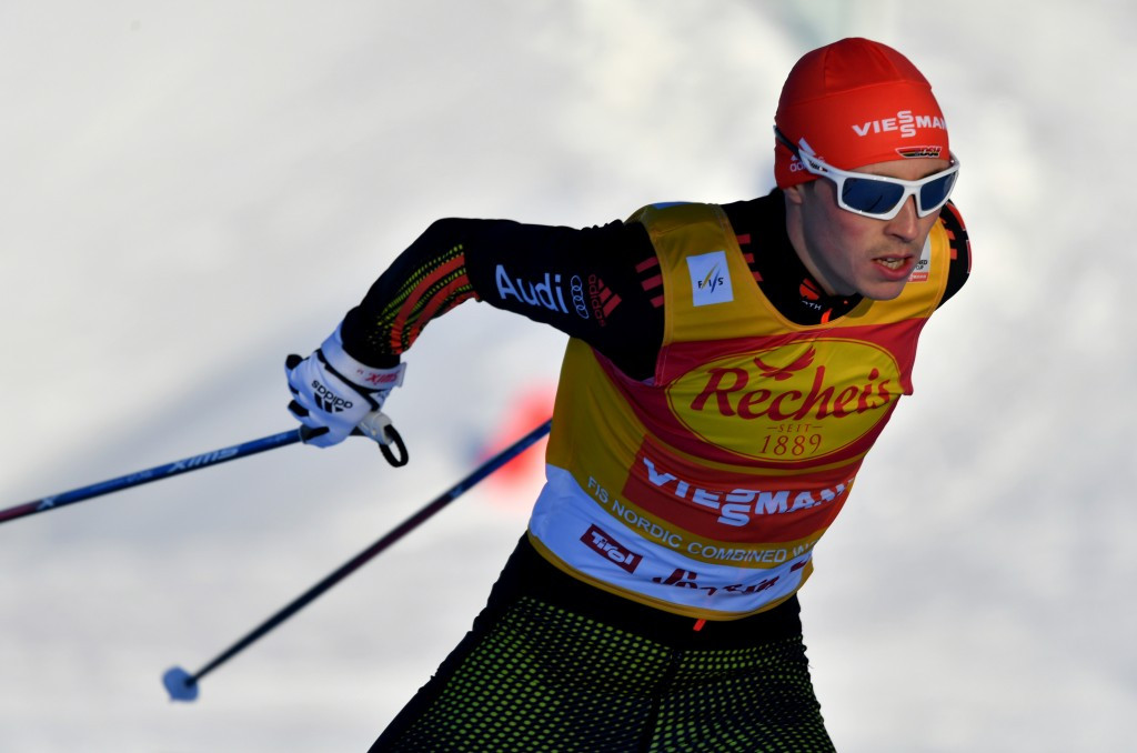 The result ended Eric Frenzel's 100 per cent record in Seefeld ©Getty Images